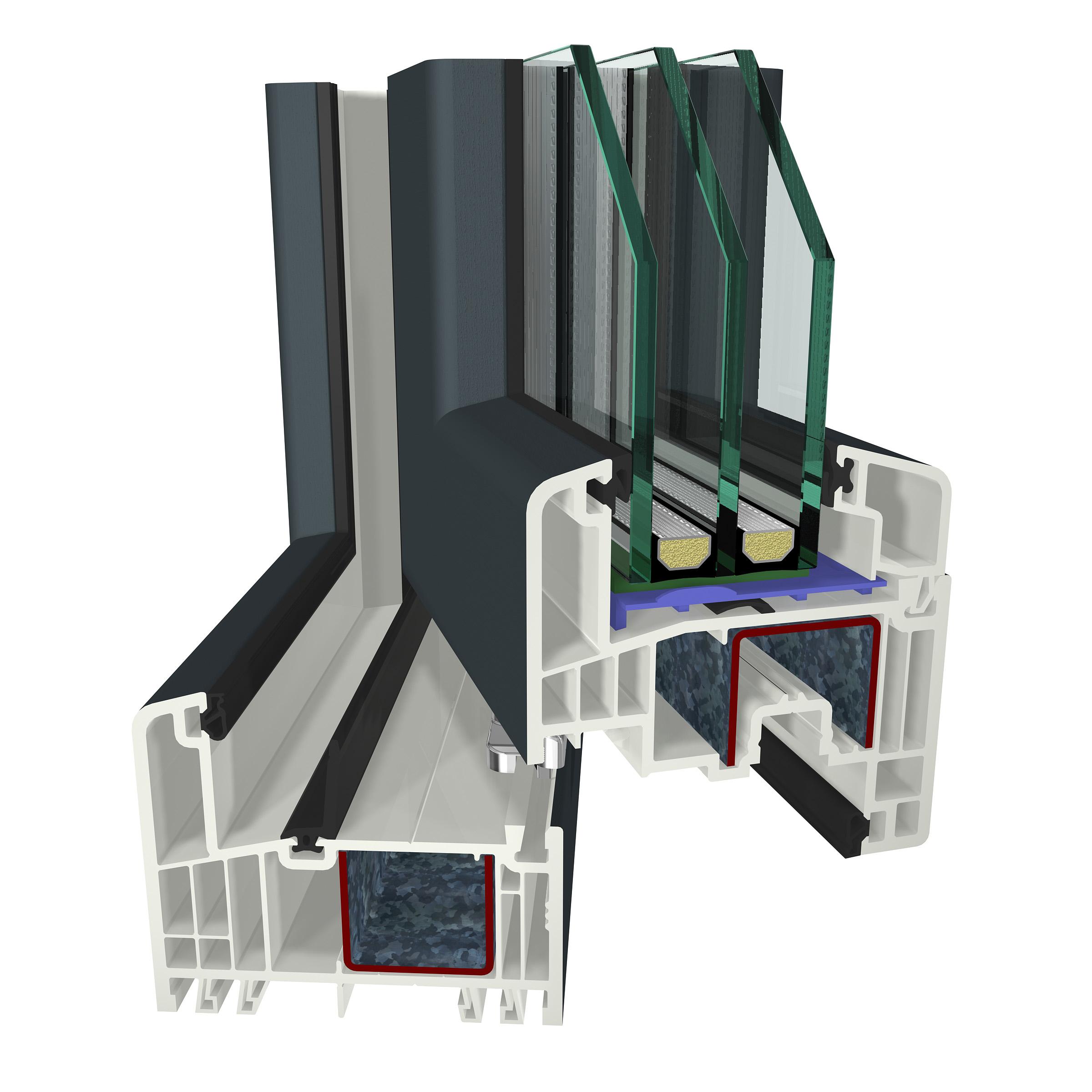 plastov okna. Black Bedroom Furniture Sets. Home Design Ideas